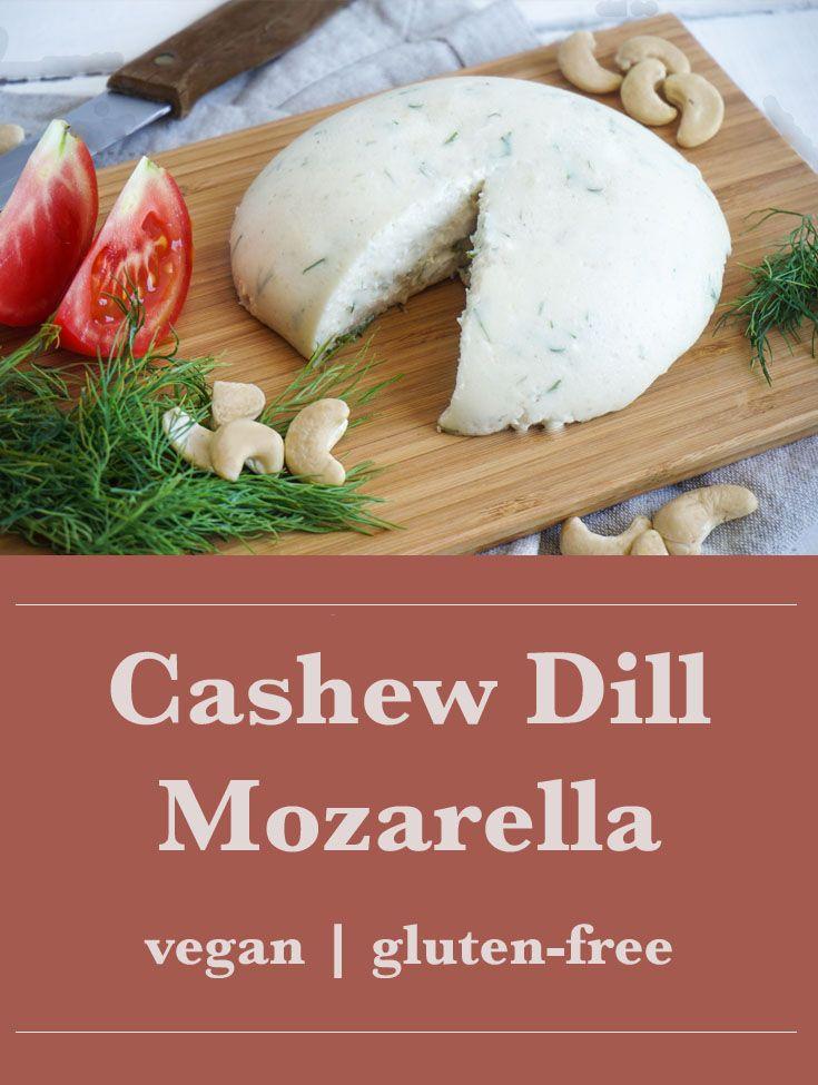 The Tasty K | Cashew Dill Moxarella | http://thetastyk.com