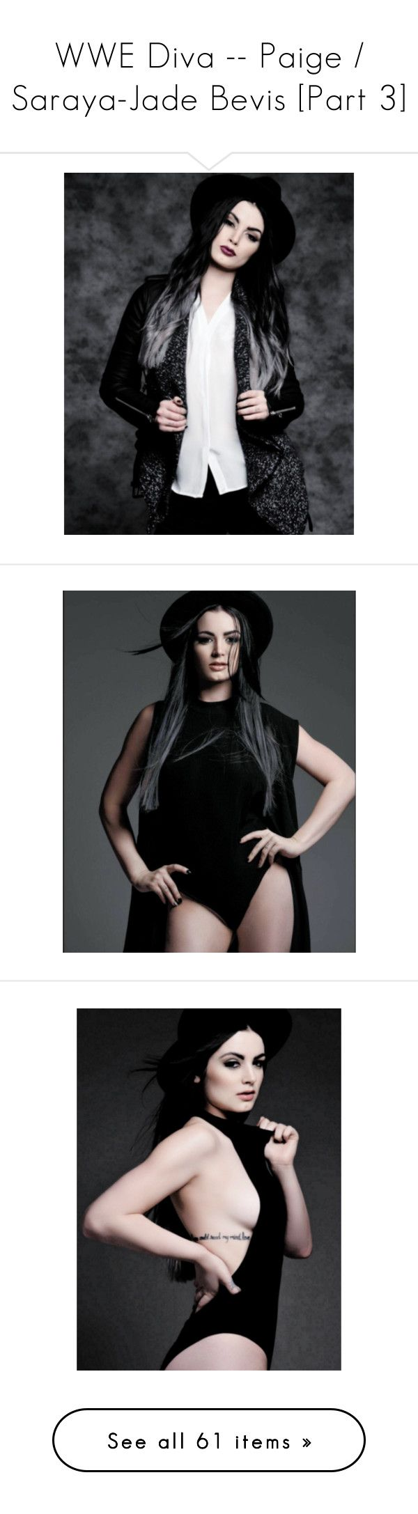 """""""WWE Diva -- Paige / Saraya-Jade Bevis [Part 3]"""" by sarahstardom ❤ liked on Polyvore featuring paige, tops and blue top"""