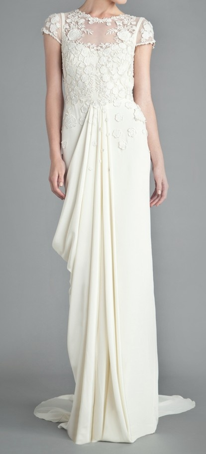 Downton Abbey inspired wedding gown / temperley london