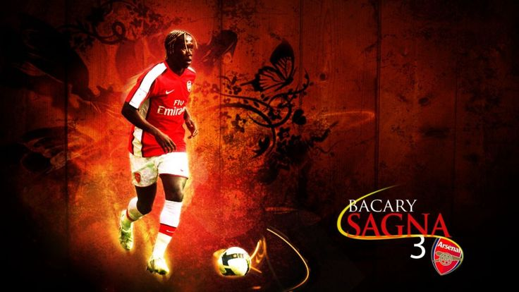 Bacary Sagna Arsenal Wallpaper HD 2013