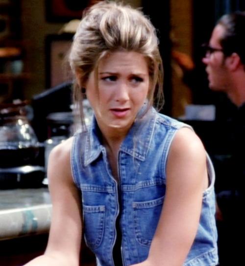 Rachel Green = Total blue jean babe <3