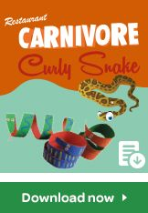 carnivore curly snake