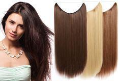 Wire haarextensions nu slechts €14,95 | Binnen één minuut lang en vol haar! Keuze uit 20 kleuren #haar #extensions #kleuren