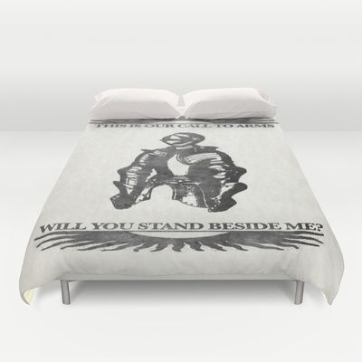 Will you stand beside me?  Duvet Cover for bedroom decoration ideas - $99.00