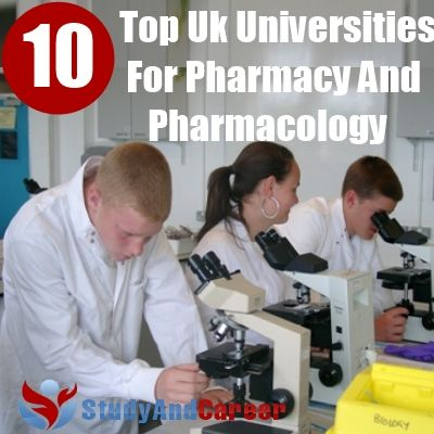 Pharmacy top 10 colleges