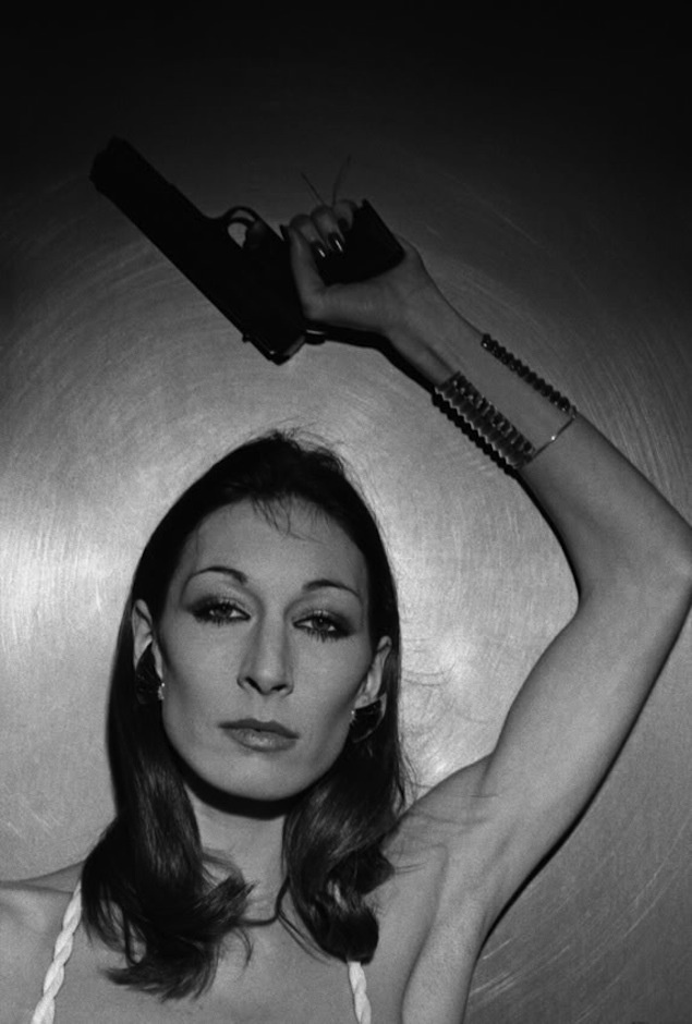 Anjelica Huston.
