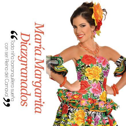 """María Margarita Diazgranados, """"Toda niña barranquillera sueña con ser Reina del Carnaval"""" http://www.inkomoda.com/maria-margarita-diazgranados-toda-nina-barranquillera-suena-con-ser-reina-del-carnaval/"""