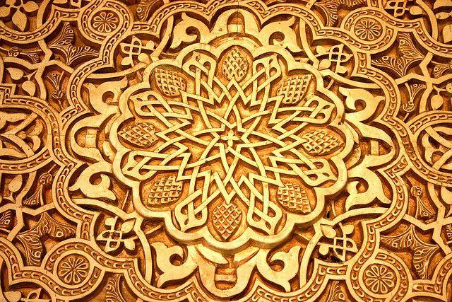 classic Islam art at the Alhambra