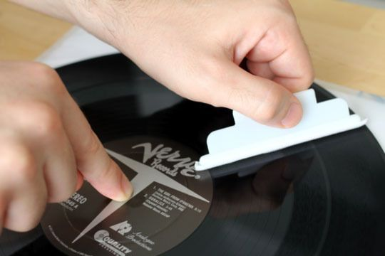 It doesn't ROCK if it's skipping and scratched! How To Clean Your Vinyl Record Collection Like a Pro | Apartment Therapy