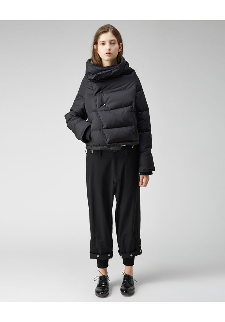 Y's / Down Wrap Jacket | La Garçonne