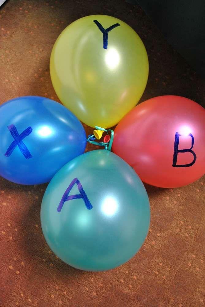 xbox Birthday Party Ideas | Photo 4 of 9 | Catch My Party