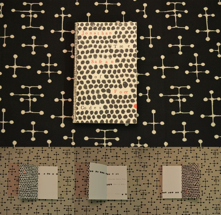 Fabric Kvadrat, Jonathan Safran Foer book