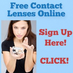 Sign Up for Free Contact Lenses Here - CLICK