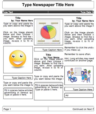 2 Beautiful Templates to Create Classroom Newspapers using Google Docs ~ Educational Technology and Mobile Learning