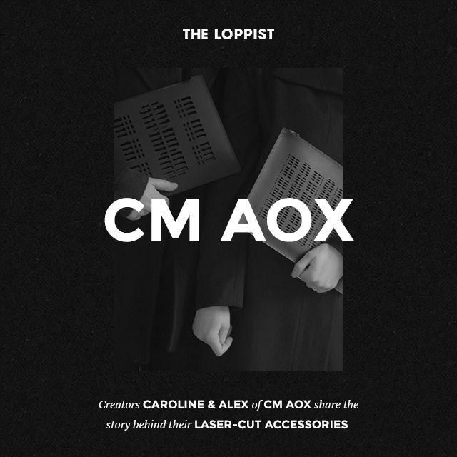 CM AOX  - Laser Cut Minimalism Leather Goods