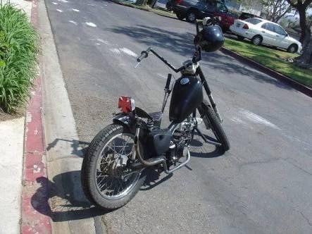bobber postie bike - Google Search