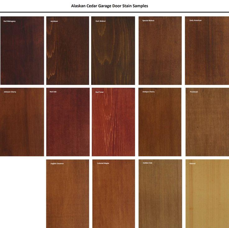 wood door stain exterior   Wood Garage Doors Online To Order: CALL 907-240-4335