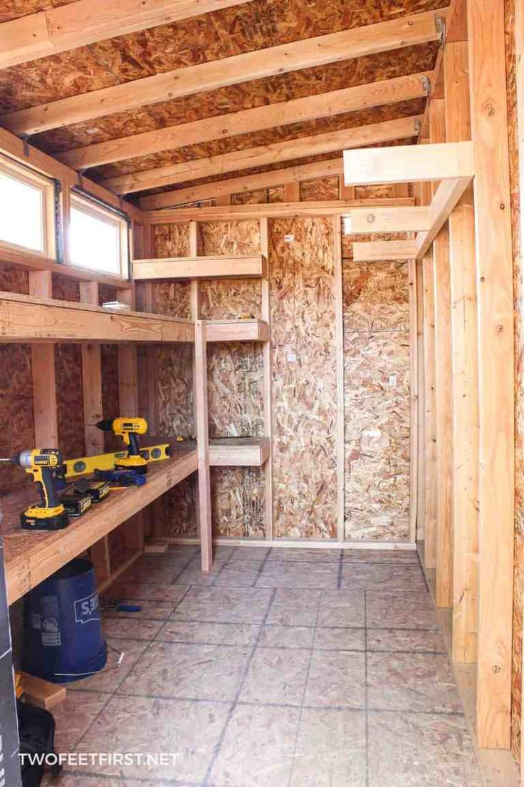 How to build storage shelves – Are you looking for a storage solution in your shed or garage? Well, I have an easy way to build storage shelves for either the garage, shed, or maybe a storage room.