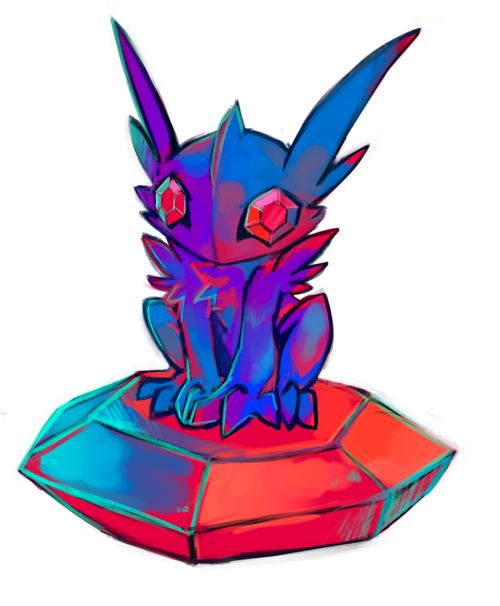 Mega Sableye! I can't wait for the remake!