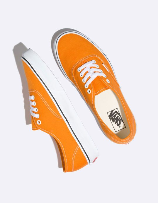 edad7450625 VANS Authentic Dark Cheddar   True White Shoes