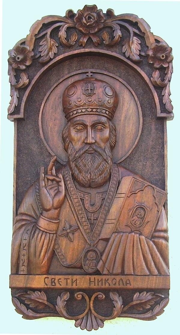 Art Icon of St. Nicholas