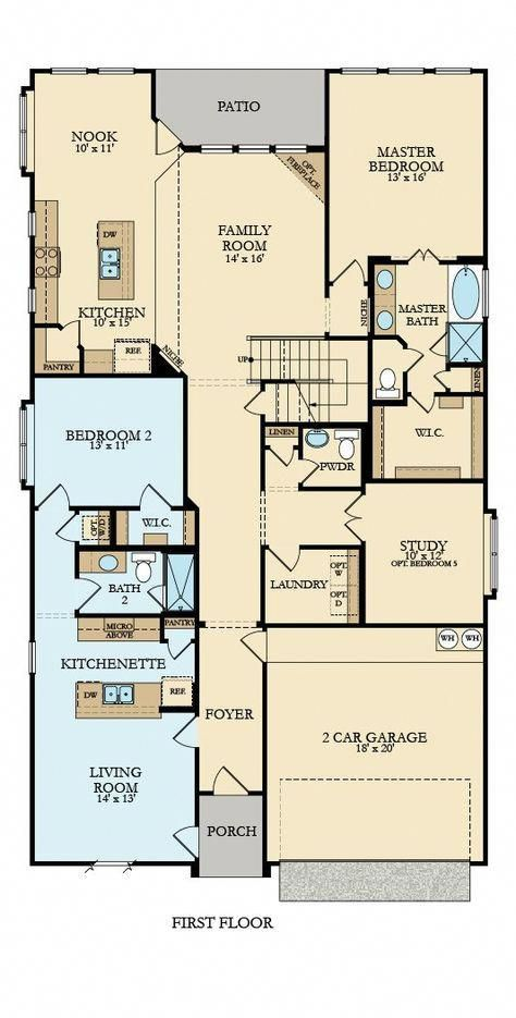 Liberty New Home Plan In Artesia Brookstone Besthomeinteriors New House Plans House Floor Plans House Plans