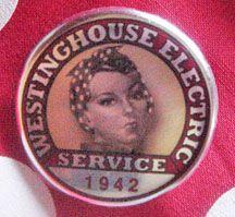 Rosie The Riveter pin