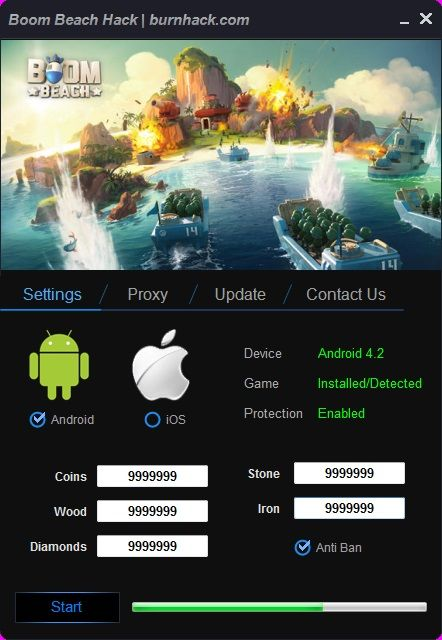 Boom Beach Hack Unlimited Coins Cheat Android/iOS  http://burnhack.com/boom-beach-hack-unlimited-coins-cheat-androidios/
