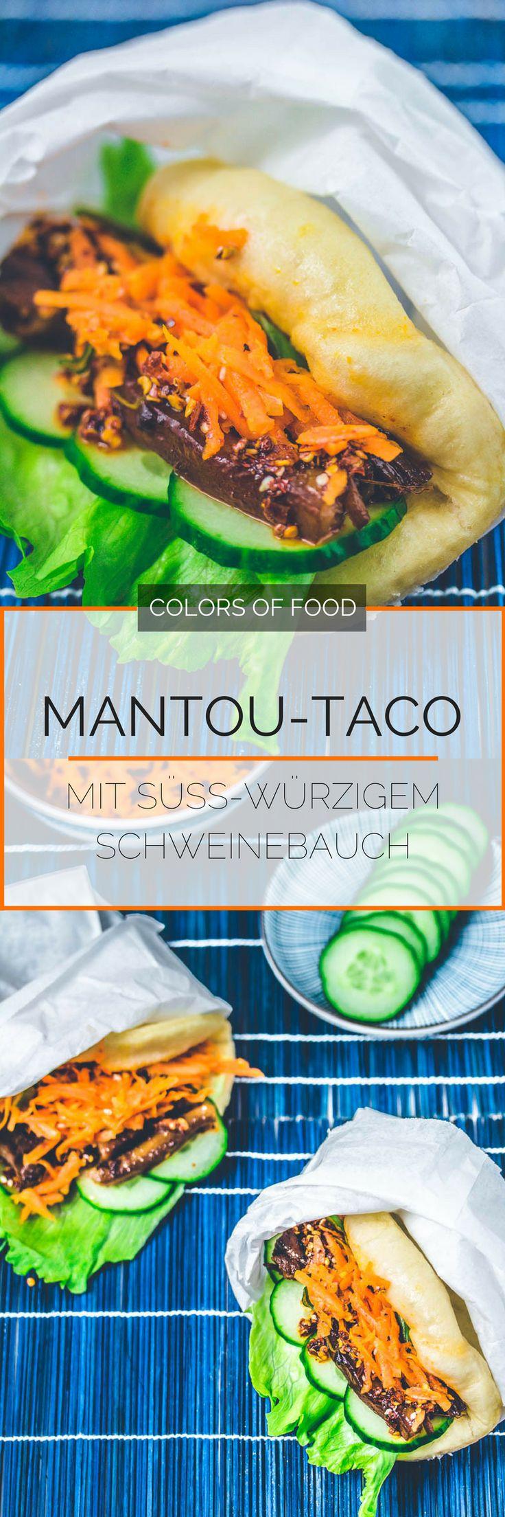Street Food Junkie?! Dann wirst du diese fluffigen Mantou-Tacos mit butterweichen Schweinebauch und den typischen Aromen der chinesischen Küche lieben!