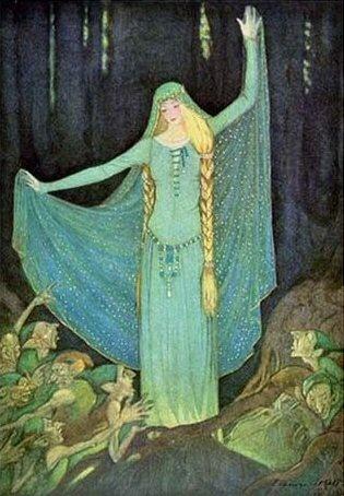 Grimm's Fairytales Illustration -- Elenore Abbot -- Fairytale Illustration