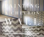 How-to Paint a Chevron Wall