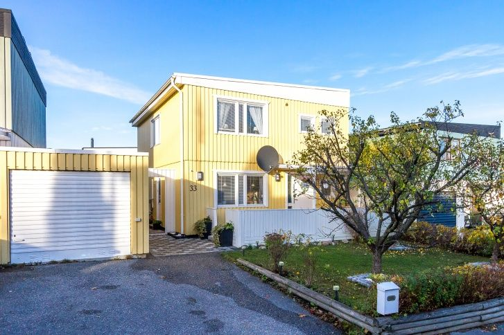 Notar - Svärdsliljevägen 33, Hässelby Norra Villastad