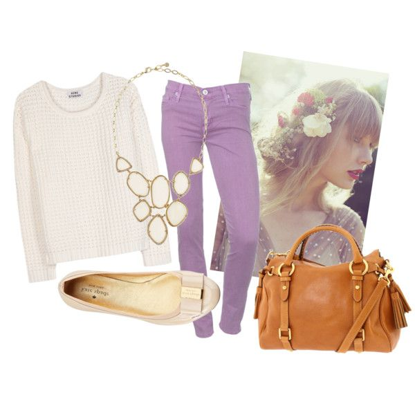 lavender jeans for spring