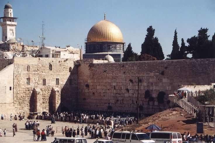 If you're as much of a rock fan as I am, you can't miss the historical sights in Israel.  The birthplace of three major religions, Jerusalem is a pilgrim's paradise.