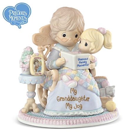 "Precious Moments® ""My Granddaughter, My Joy"" Figurine"