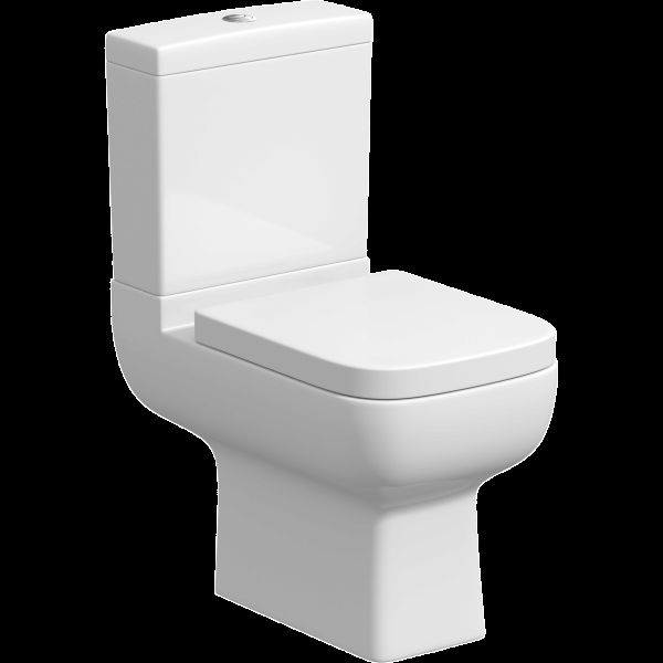 Affine Amelie Space Saving Toilet