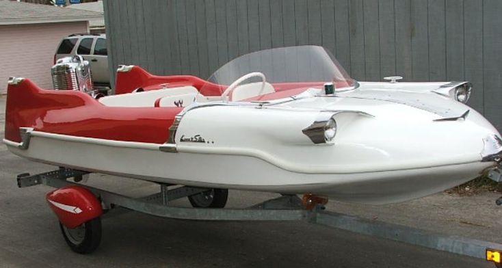1958 Lone Star Meteor ski boat