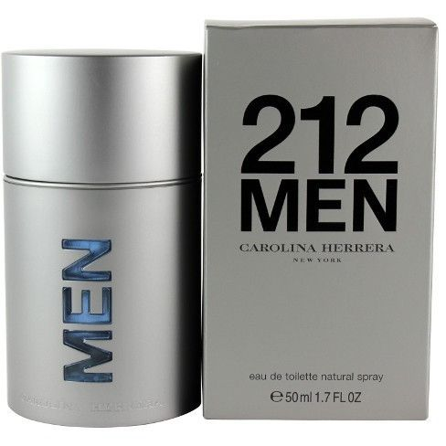 212 Men NYC by Carolina Herrera EAU DE TOILETTE SPRAY 1.7 Oz