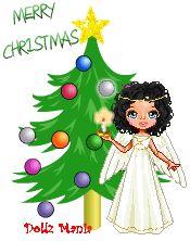 Dollz Mania Holiday Glitter Dolls - Doll makers and Dress up games - Make Cartoon Dolls @ Dollz Mania
