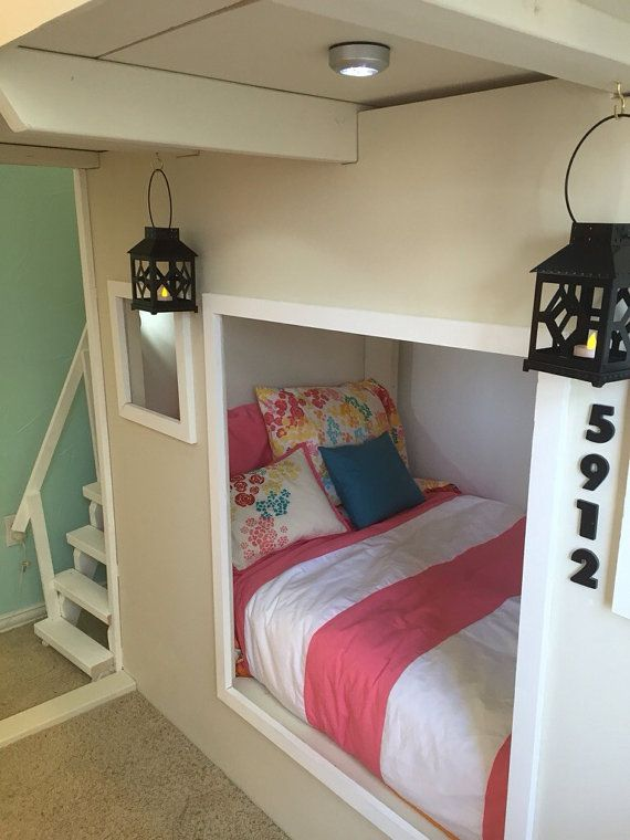 Playhouse Bed with Stairs and a Slide for $1700 - get a quote from Chris.