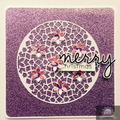 Artdeco Creations Brands: Quick Christmas Cards by Alison Bevis