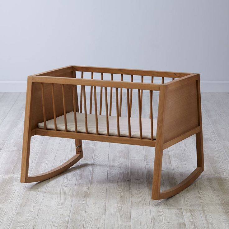 Rock your baby to sleep in a beautiful cradle from The Land of Nod. Our bassinets and cradles are made from high quality materials and are designed to last.