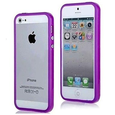 vormor® anti-chocs parachoques TPU caso para el iphone 5 / 5s (colores surtidos) – USD $ 1.99