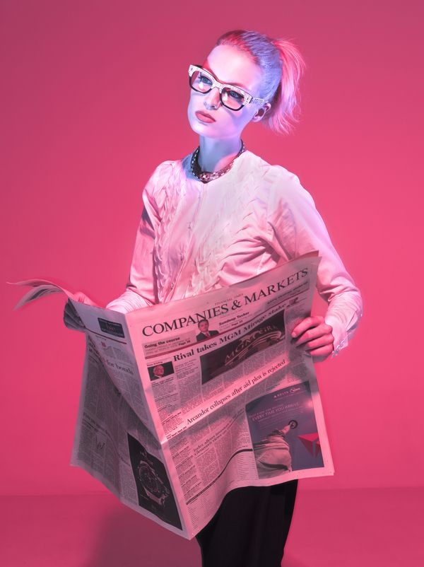 FASHION SPREAD - JOB ISSUE (Catalog Magazine) on Fashion Served