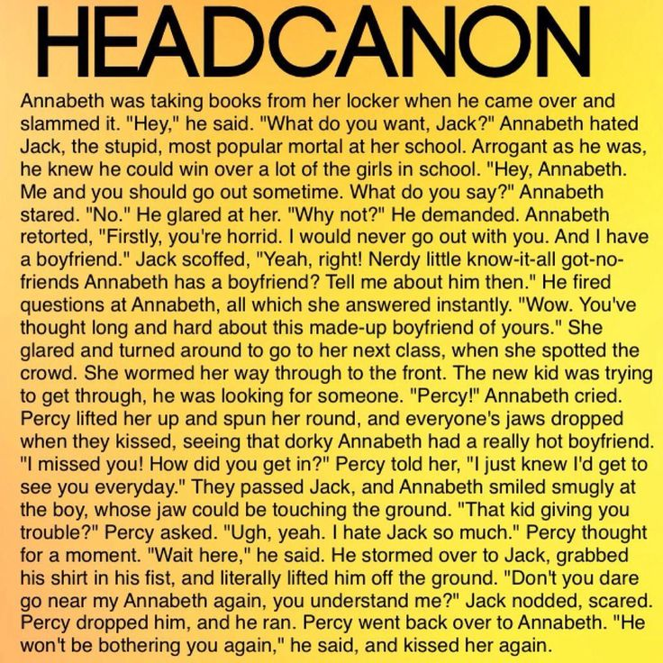 Annabeth could totally beat that guy herself but I love this all the same ❤