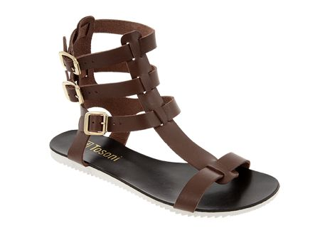 Tosoni at #Spitz - Triple Ankle Strap Gladiator - Women's Shoes #SS14