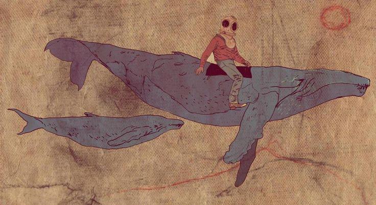baleia astronauta