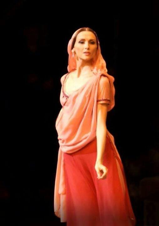 "Svetlana Zakharova as Nikiya /""La Bayadère"""