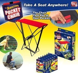 As Seen On Tv Promotions Case Pack 18 As Seen On Tv Promotions Case Pack 18 by ALLSTAR PRODUCT GROU. $399.00. Please refer to SKU# ADX24036323 when you inquire.. Picture may wrongfully represent. Please read title and description thoroughly.. This product may be prohibited inbound shipment to your destination.. Shipping Weight: 10.00 lbs. Brand Name: ALLSTAR PRODUCT GROU Mfg#: 905874. As Seen On Tv Promotions - Amazing Pocket Chair Case Pack 18 .Please note: If there...