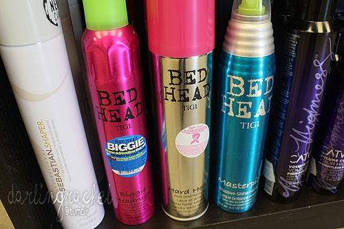 Bed Head hair products [The Masterpiece hairspray - luvluv!]